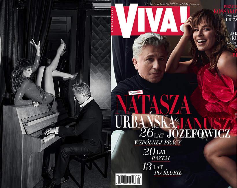Natasza Urbańska, Janusz Józefowicz, VIVA! 3/2021