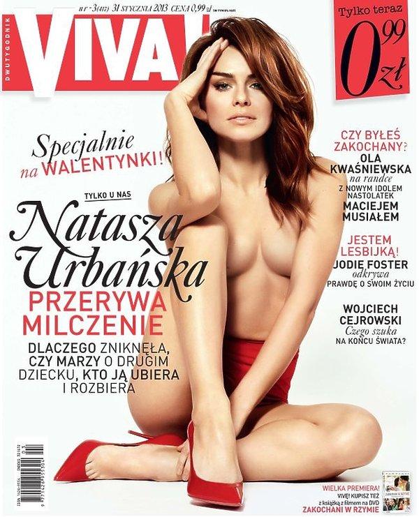 Natasza Urbańska na okładce Vivy!
