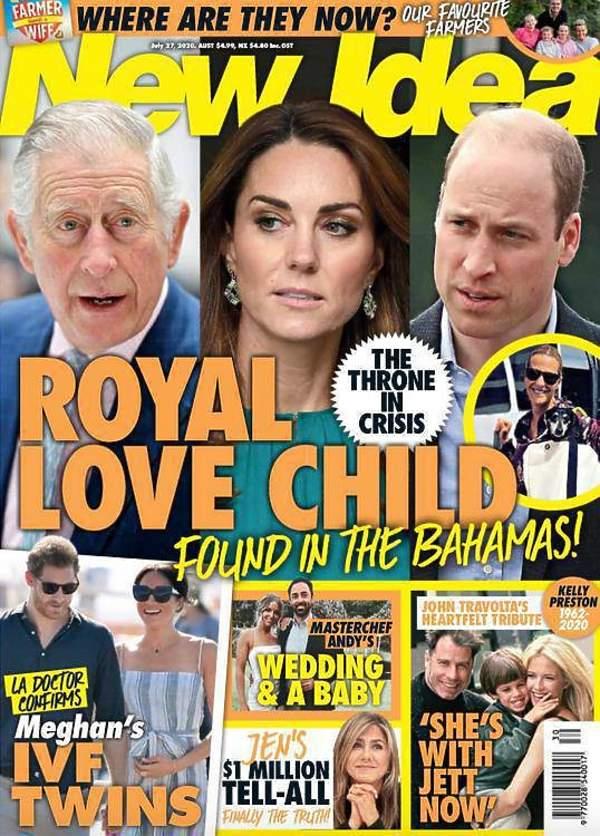 New Idea Karol ma nieślubną córkę