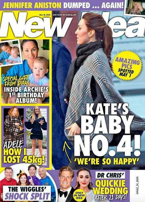 New Idea księżna Kate w ciąży
