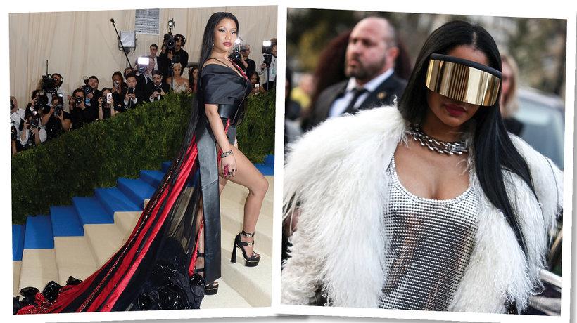 Nicki Minaj projektuje dla H&M.