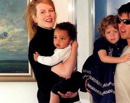 Nicole Kidman i Tom Cruise z dziećmi na FB