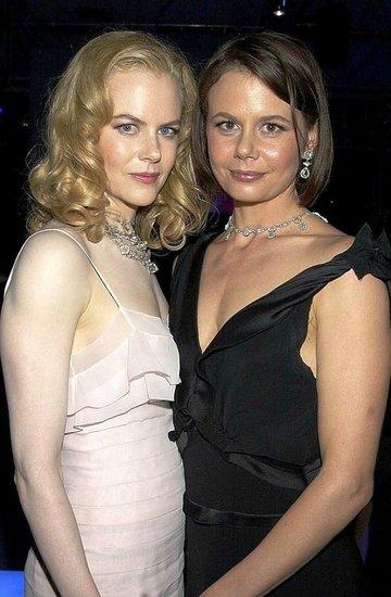 Nicole Kidman z siostrą