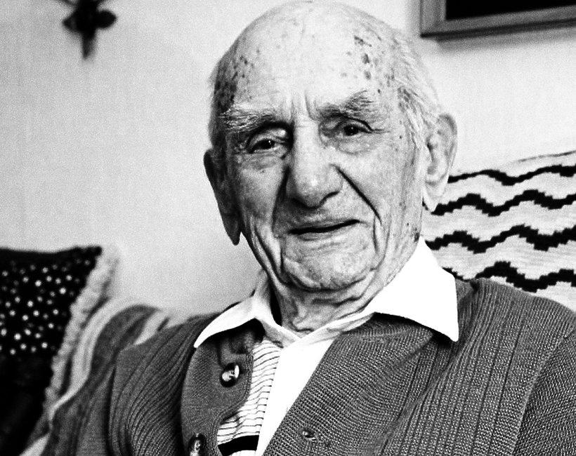 Nie żyje Gustav Gerneth, najstarszy mężczyzna świata