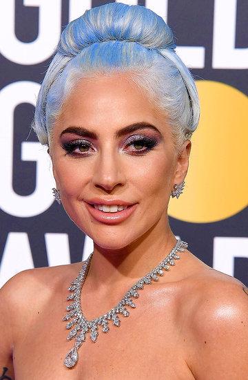 niebieskie włosy lady gaga kylie jenner