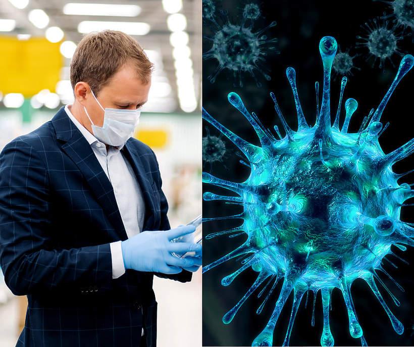 Niepokojace objawy koronawirusa u mezczyzn 2020