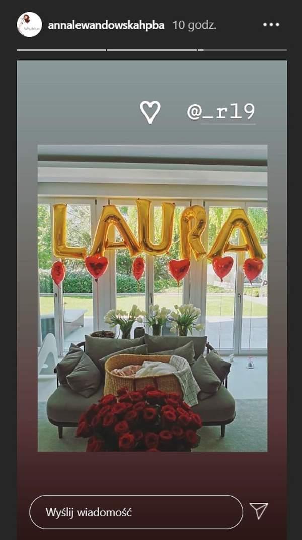 Niespodzianka, Laura Lewandowska