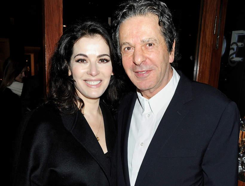 Nigella Lawson z byłym mężem