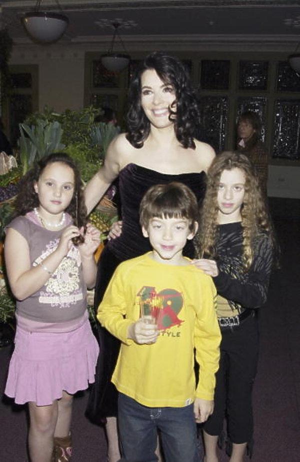 Nigella Lawson z dziećmi