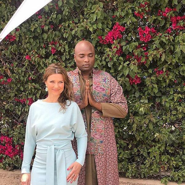 norweska księżniczka Martha Louise, szaman Durek Verrett