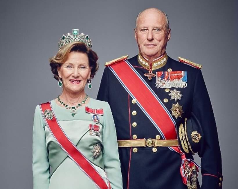 norweska rodzina królewska: Król Harald V, królowa Sonja