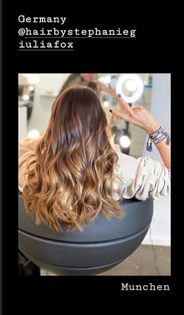 Nowa fryzura Lewandowskiej