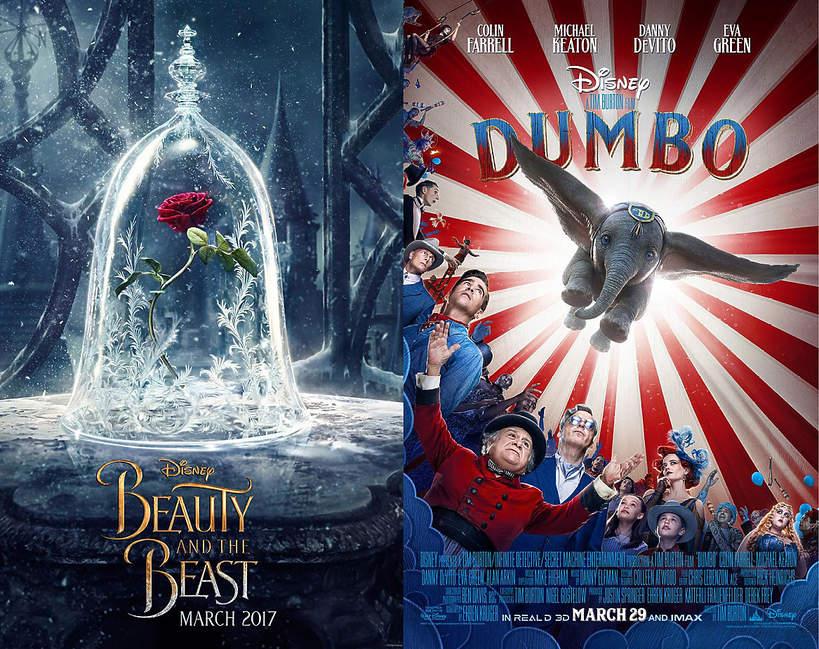 Nowe wersje filmów Disneya
