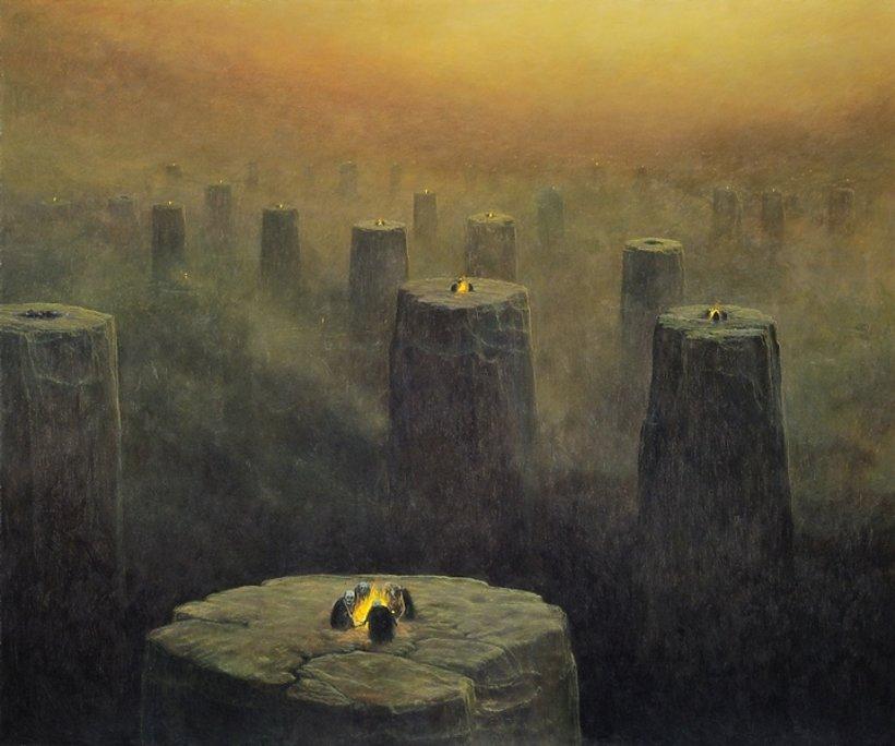 Obraz Beksuńskiego, 1975