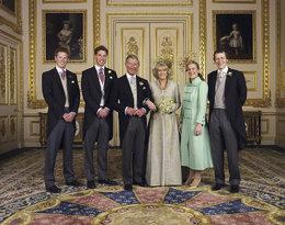 Oficjalne portrety rodziny królewskiej, oficjalny portret ślubny księcia Karola i księżnej Camilli