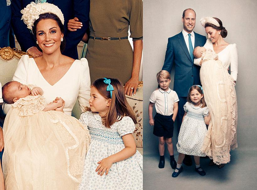 Oficjalne zdjęcia z chrztu księcia Louisa, chrzest księcia Louisa