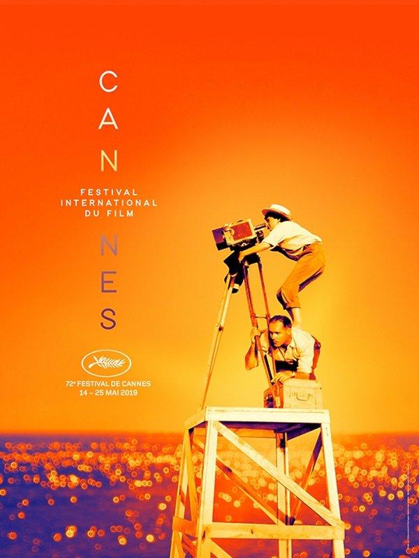 oficjalny plakat 72. Międzynarodowego Festiwalu Filmowego w Cannes