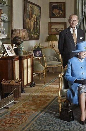 Oficjalny portret brytyjskiej rodziny królewskiej