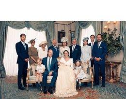 Oficjalny portret, chrzciny, książę Louis, rodzina Królewska