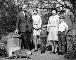Oficjalny portret rodziny królewskiej, brytyjska rodzina królewska