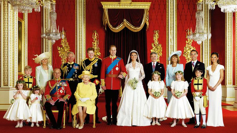 Oficjalny portret ślubny Kate i Williama