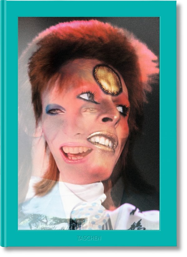 Okładka albumu Mick Rock. The Rise of David Bowie, 1972–1973