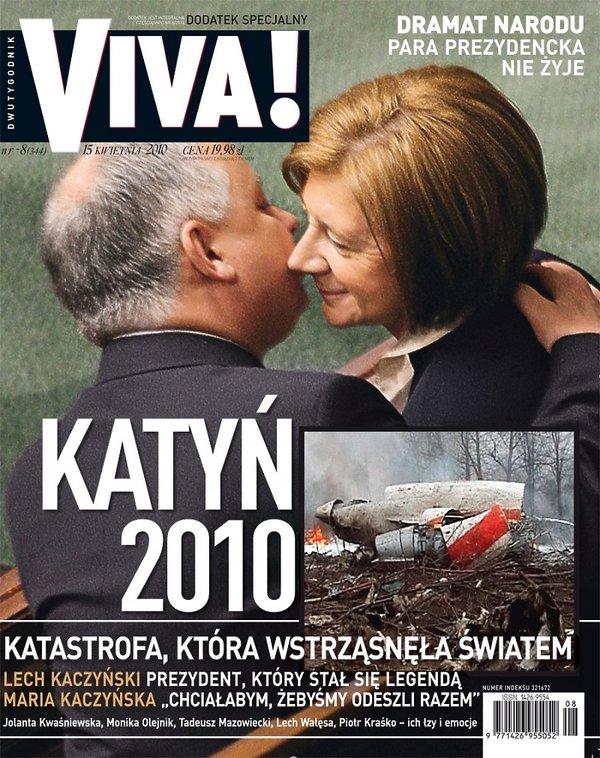 Okładka dodatku specjalnego Vivy! kwiecień 2010