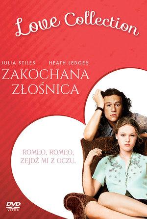 okładka filmu Zakochana złośnica. Galapagos Films