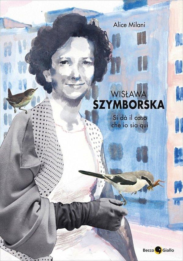 Okładka komiksu o Wisławie Szymborskiej
