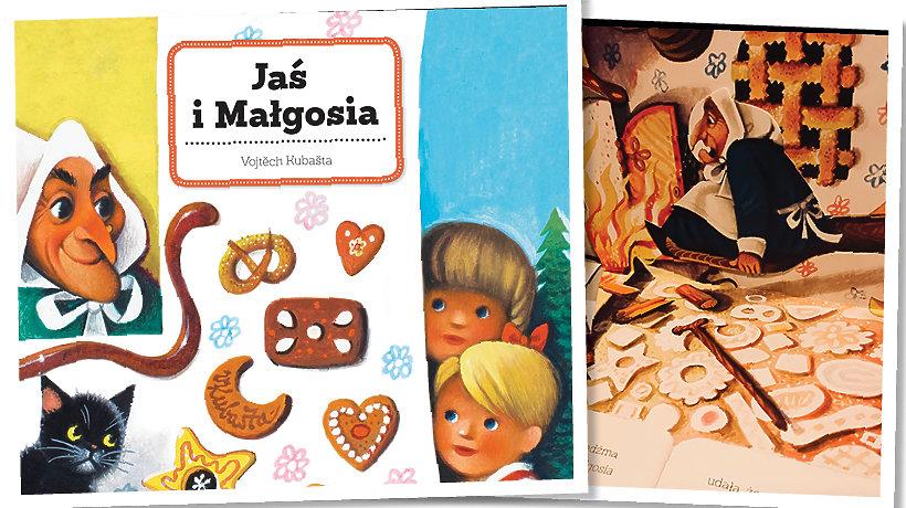 okładka książki Jaś i Małgosia