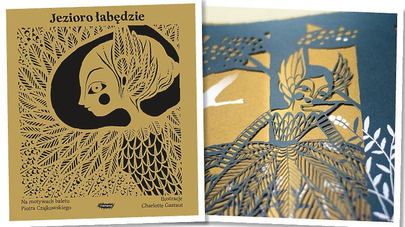 okładka książki Jezioro łabędzie
