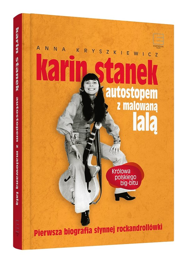 Okładka książki o Karin Stanek