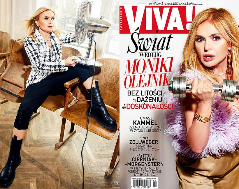 Okładka, Monika Olejnik, VIVA! 5/2020