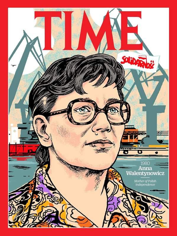 Okładka Time, Anna Walentynowicz