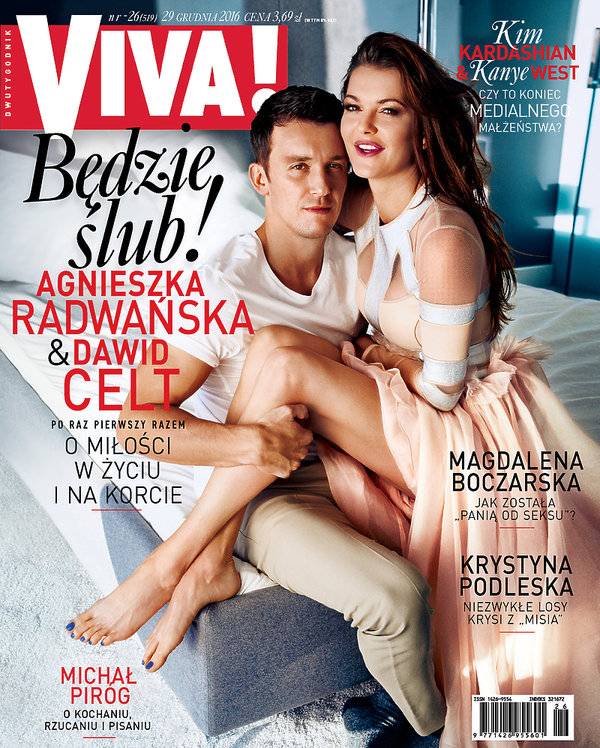 Okładka, Viva!, grudzień 2016