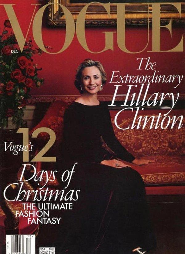 Okładka Vogue Hillary Clinton