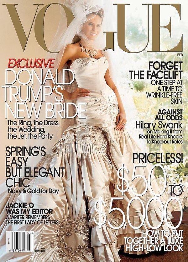 Okładka Vogue Melania Trump