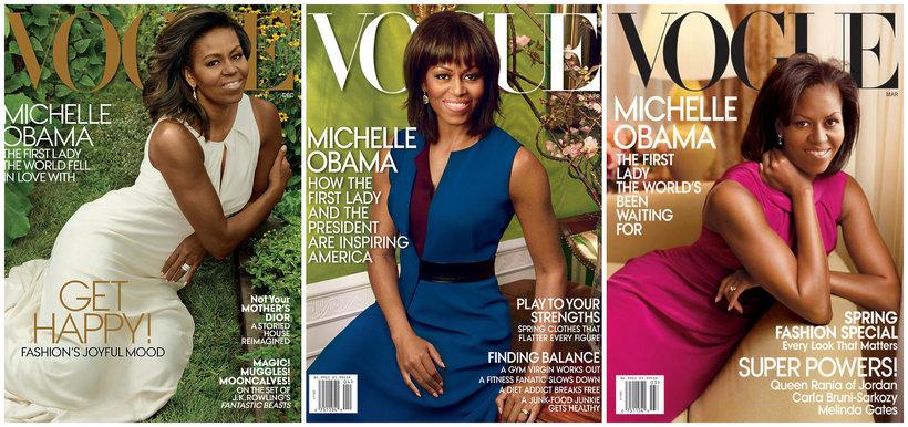 Okładka Vogue Michelle Obama
