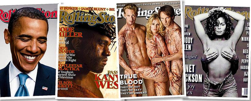 Okładki Rolling Stone