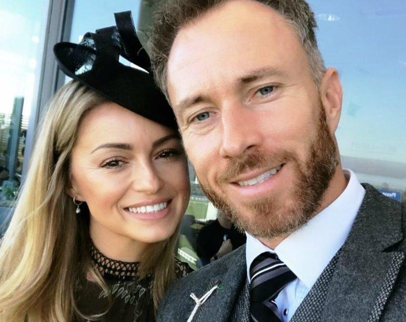 Ola Jordan z mężem