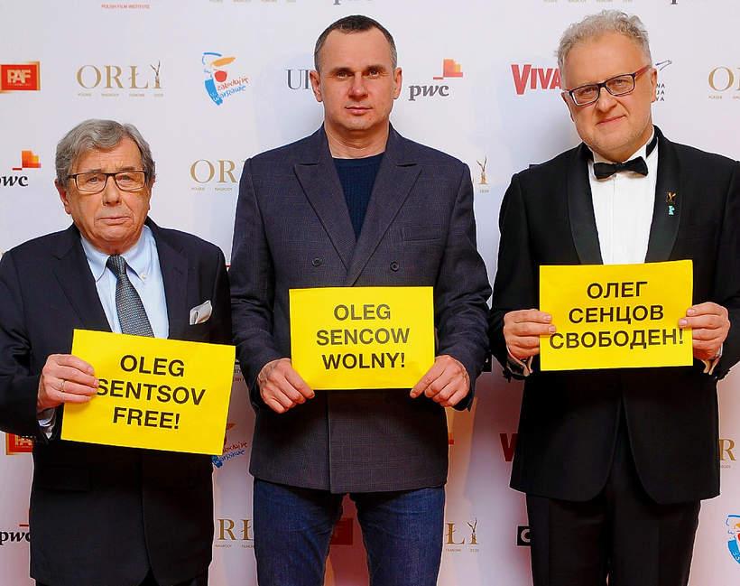 Oleg Sencow, Orły 2020, Janusz Gajos, Dariusz Jablonski