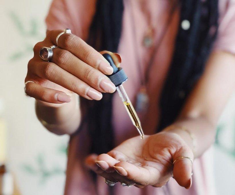 olejek rycynowy na włosy