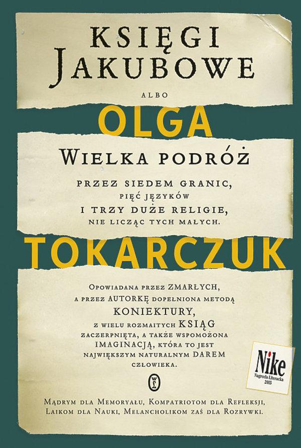 Olga Tokarczuk, Księgi jakubowe