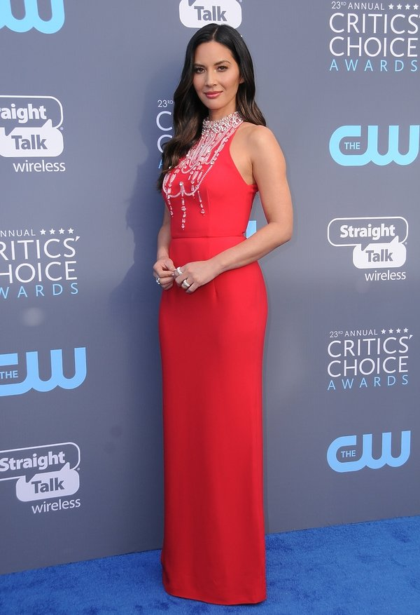 Olivia Munn, Critics Choice Awards 2018