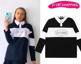 Oliwia Bieniuk w modnej bluzce z kołnierzykiem! To będzie hit sezonu