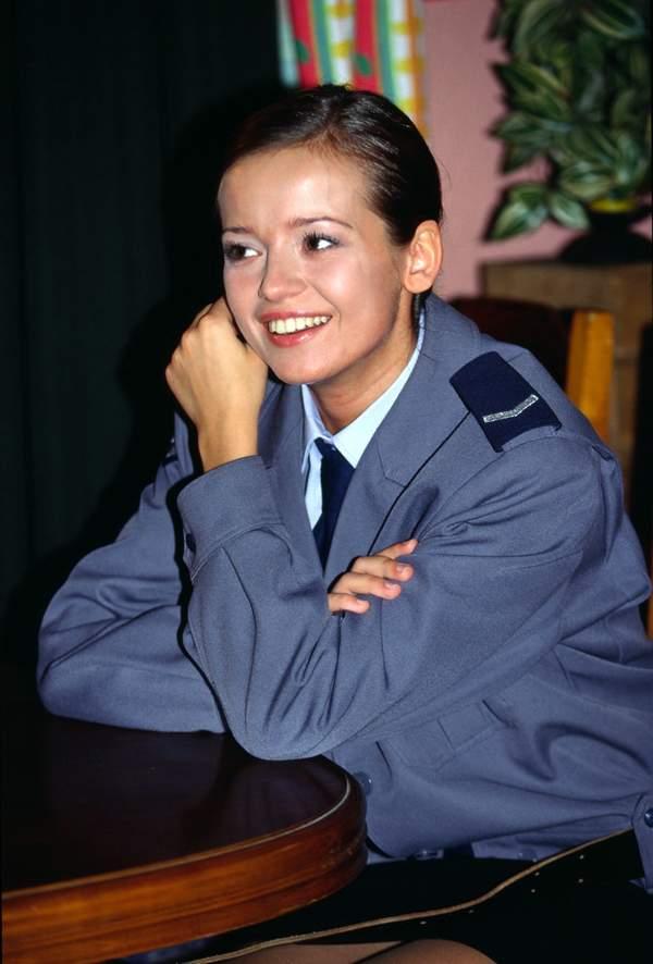 Oliwia Bieniuk jak Anna Przybylska