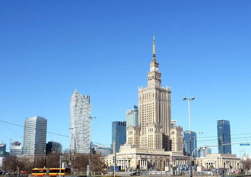 opustoszała Warszawa, epidemia, koronawirus, marzec 2020