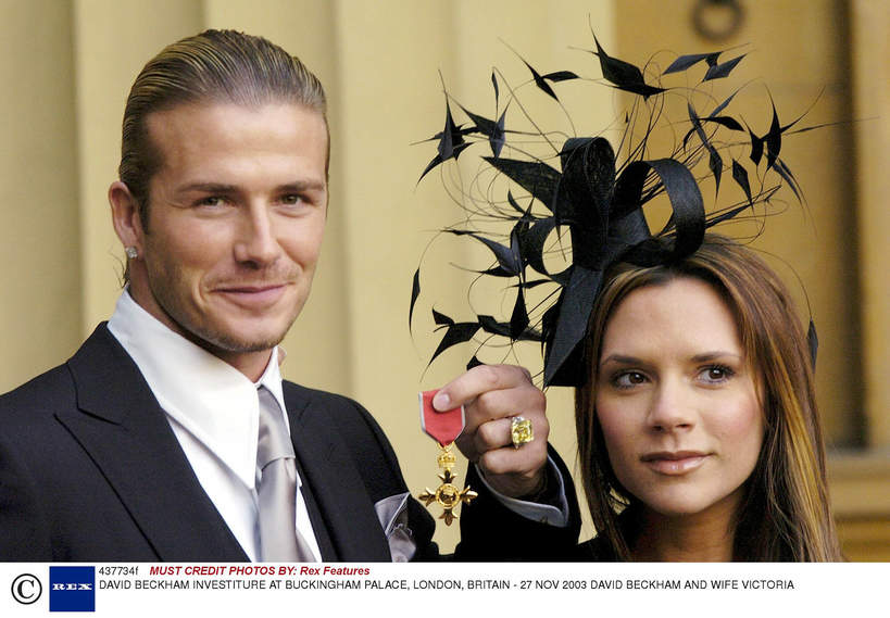 ORder Imperium Brytyjskiego: David Beckham