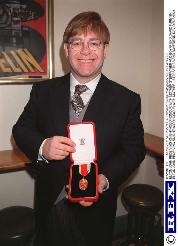 ORder Imperium Brytyjskiego: Elton John