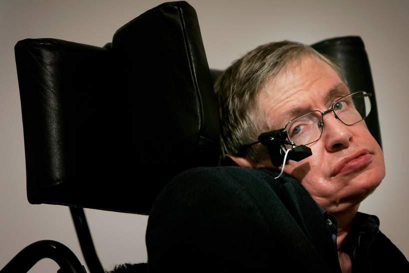 ORder Imperium Brytyjskiego: Stephen Hawking